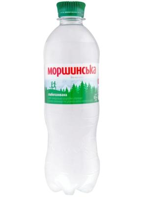 ВОДА МОРШИНСЬКА 0,5л слабогазована
