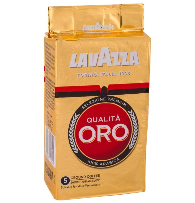 КАВА МЕЛЕНА LAVAZZA Qualita Oro 250г