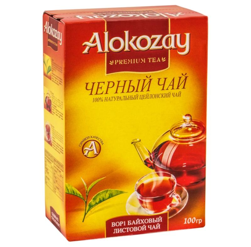 ЧАЙ ЧОРНИЙ ALOKOZAY 100 г