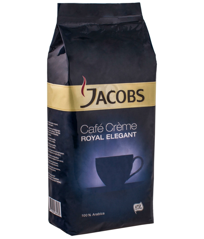 КАВА ЗЕРНОВА JACOBS ROYAL ELEGANT CAFE CREME 1кг